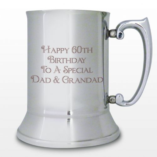 Personalised Stainless Steel Bold Message Tankard